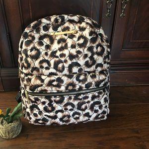 🎒Betsey Johnson leopard  nylon Backpack